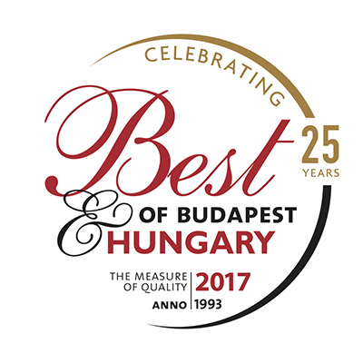 Avalon Resort & SPA - Best of Budapest & Hungary díj