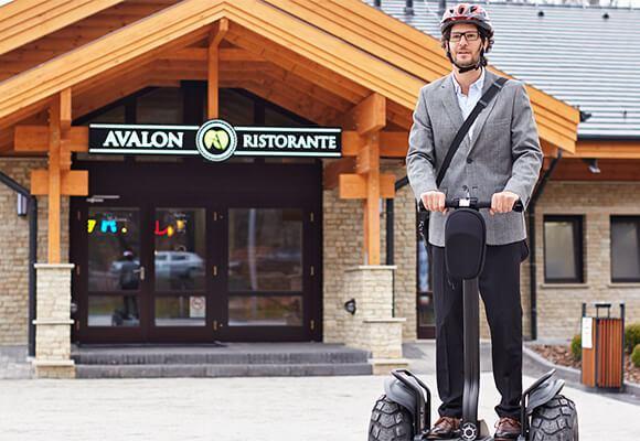 Avalon Resort & SPA e-scooter túrák élmények