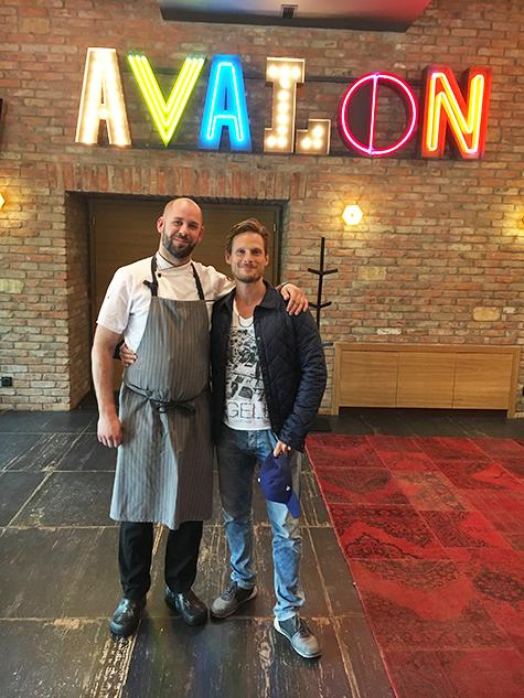Avalon Resort & SPA - Áprilisban Fenyő Iván színművész járt nálunk!