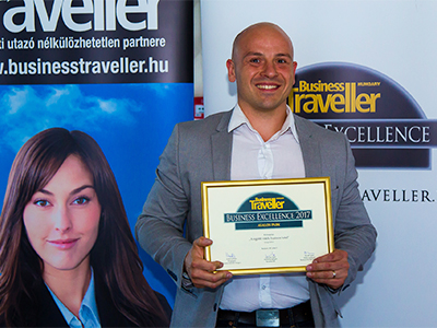 Avalon Resort & SPA - Business Excellence díj 2017